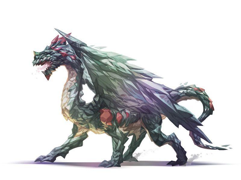 Crystal Dragon by nJoo on deviantART | Dragons | Pinterest ...