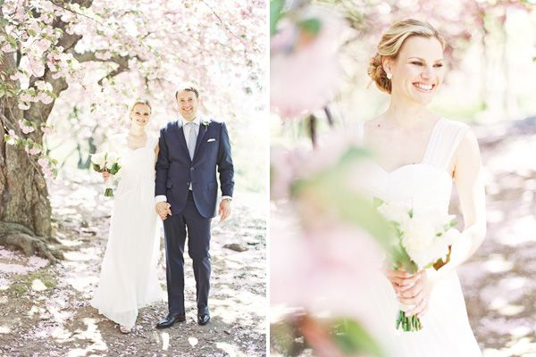 © Alicia Swedenborg - new york wedding photographer. central park cherry blossom wedding