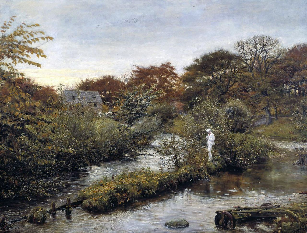 Evas blog flowing to the river john everett millais