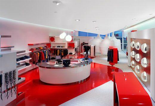 Uzumaki Interior Design Fashion Store Interior Decorating Ideas