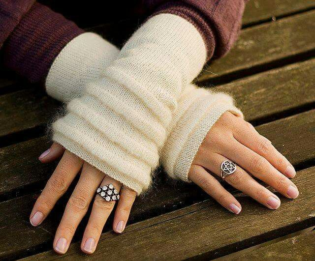Polaina de mão | ropa para hacer | Pinterest | Guantes, Mitones y ...