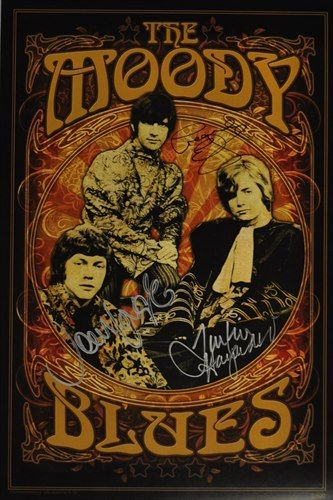 Moody Blues Vintage Music Posters Music Poster Rock N Roll Art