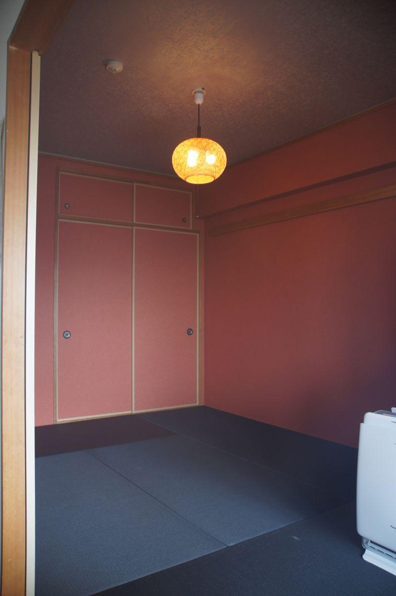 内装リフォーム 寝屋川市mtst邸 和室天井 壁クロス貼り替え タタミ