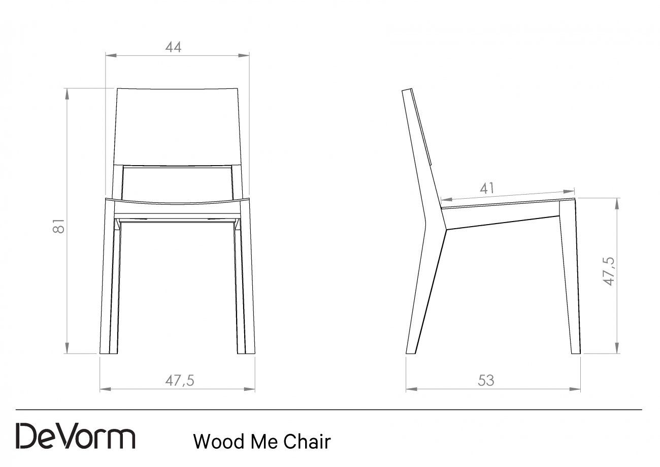 Chair Drawing Technical