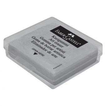 10er Pack Faber-Castell Art Eraser in Plastic Box Grau