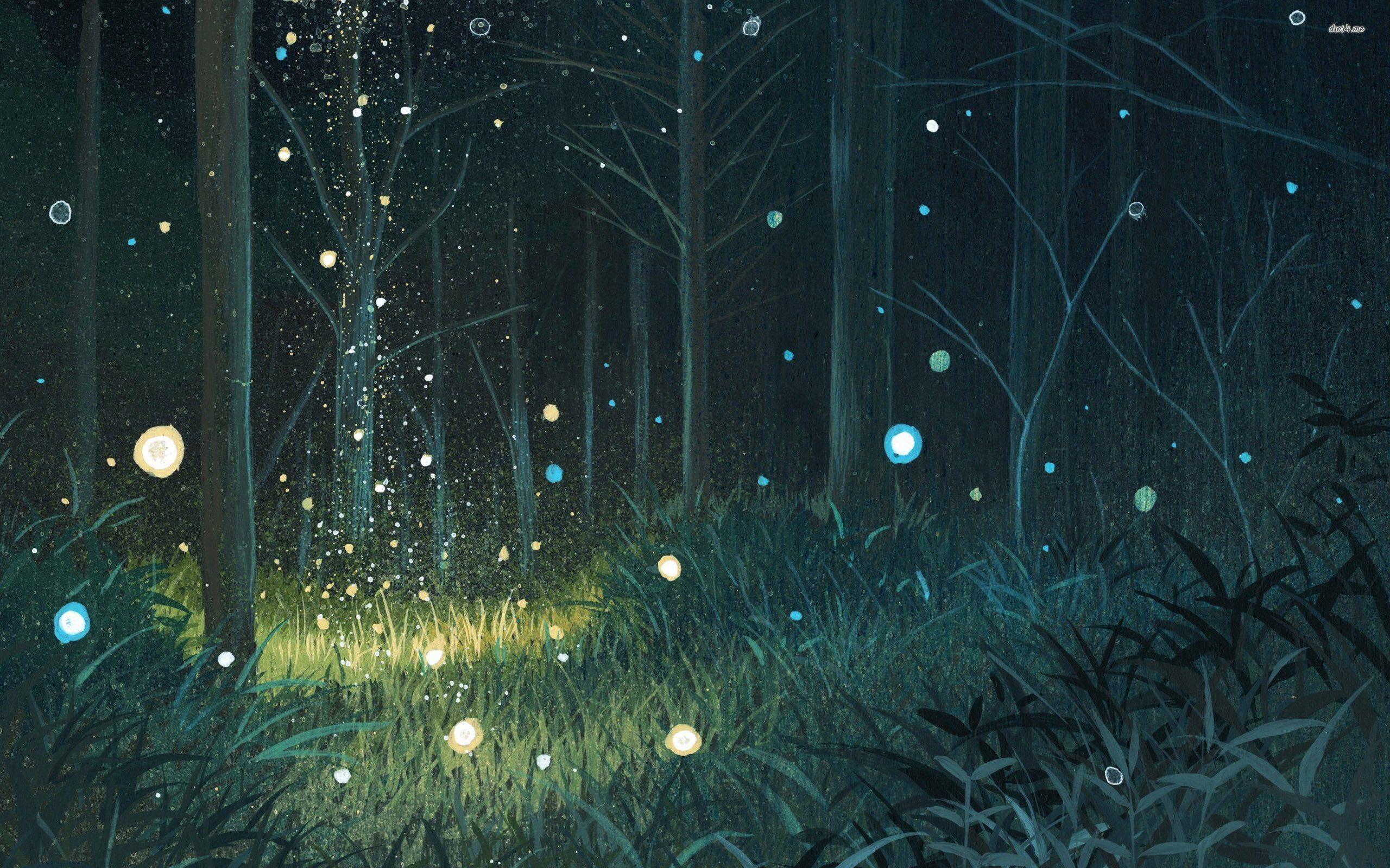 Forest Night Wallpaper » WallDevil Best free HD desktop