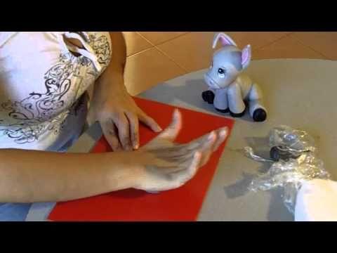 Paso a Paso en porcelana fria: Burrito soñador (3de3)