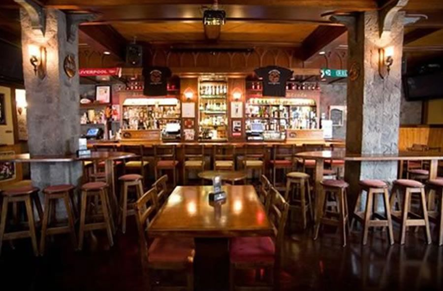Unique and aesthetic restaurant interior design of the for Interior designs for pubs