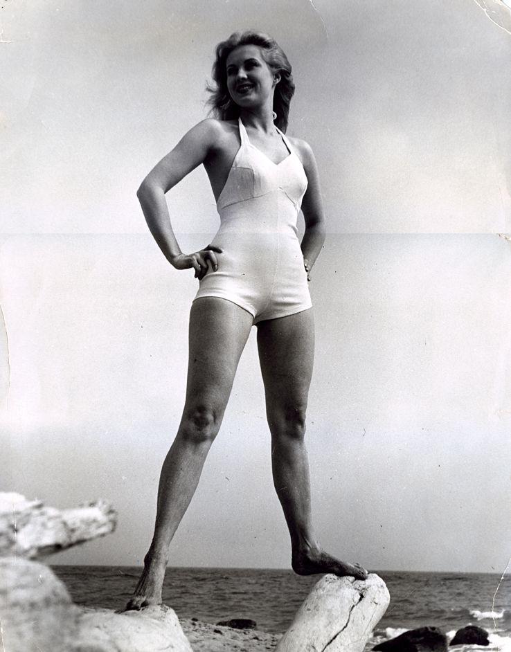 virginia mayo legs