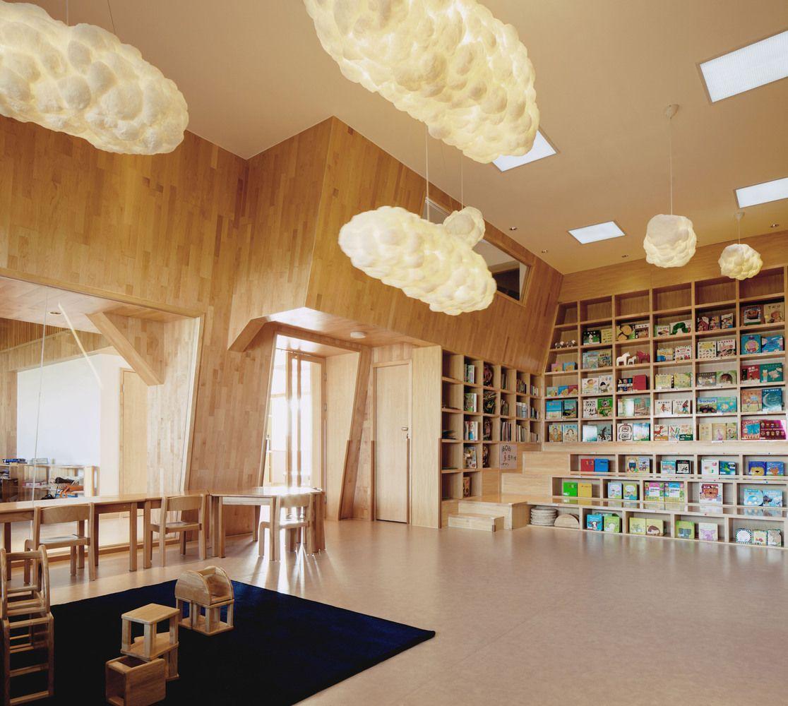 Gallery Of Ibobi Kindergarten Vmdpe 1 Kindergarten Kindergarten Innenraum Montessori Und Kindergartenentwurf