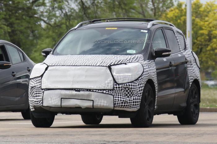 Автофория: Ford Kuga / Escape facelift замечен в США