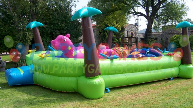 el brincolin inflable monstruito es uno de los juego mas bonitos para las fiestas infantiles