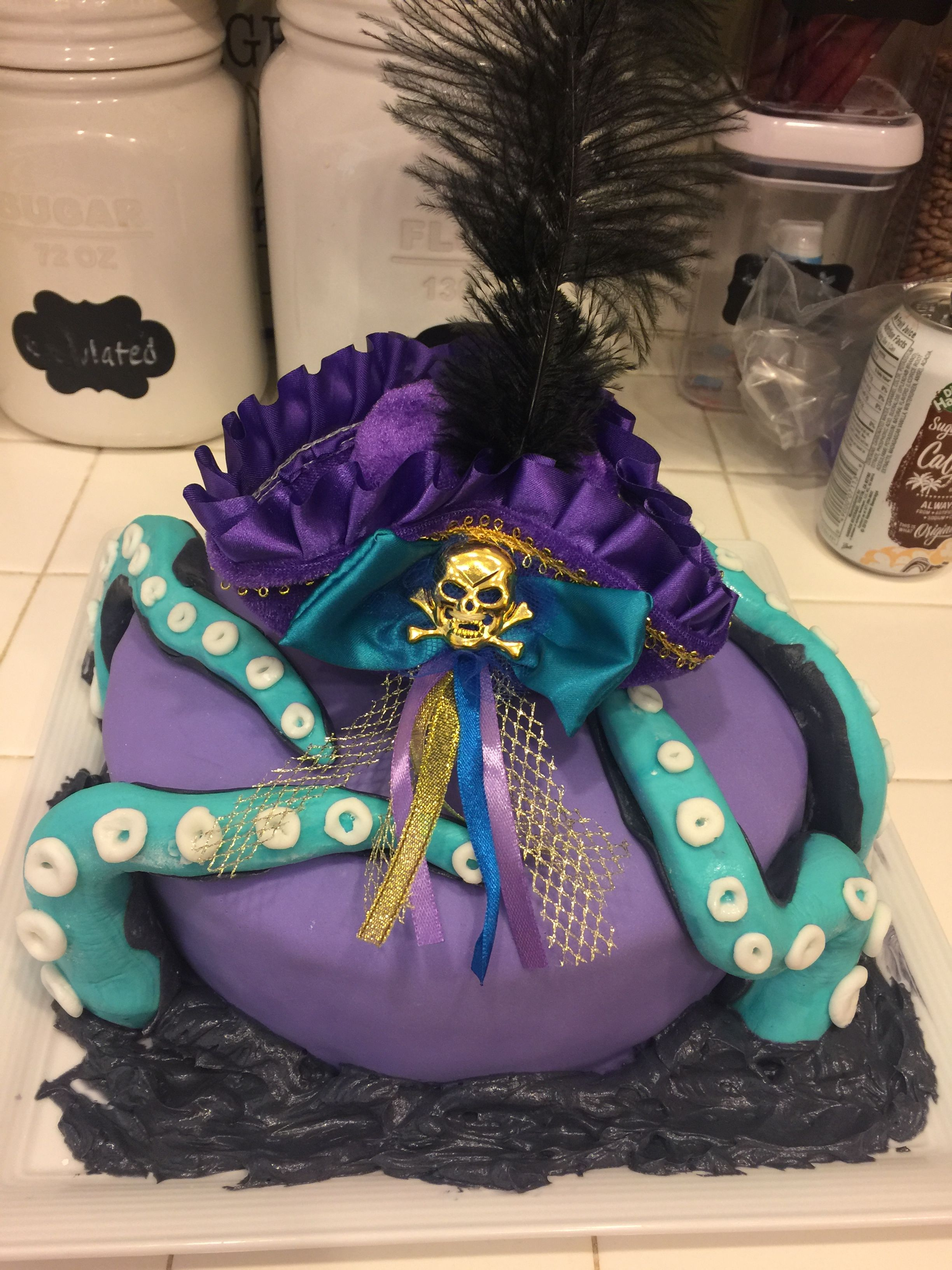 Descendants 2 Uma Birthday Cake 8th 10th Parties Party Themes