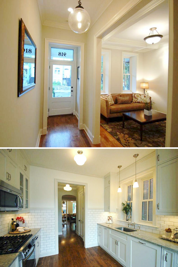 "Makes me miss my old DC rowhouse. Well, not the ""before"" pics."