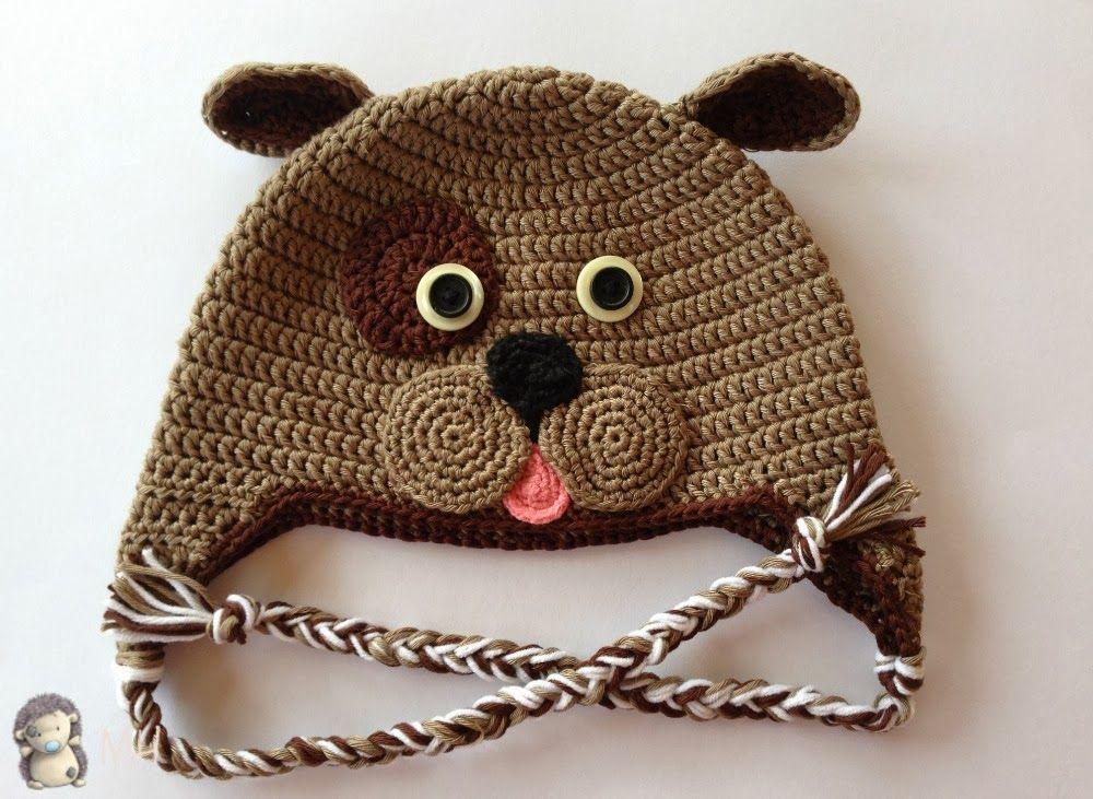 Gorro perrito a crochet | Tejido | Pinterest | Gorros, Tejido y ...