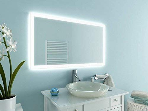 NewYork21 LED Spiegel, Badspiegel mit Beleuchtung verschiedene - spiegel badezimmer mit beleuchtung