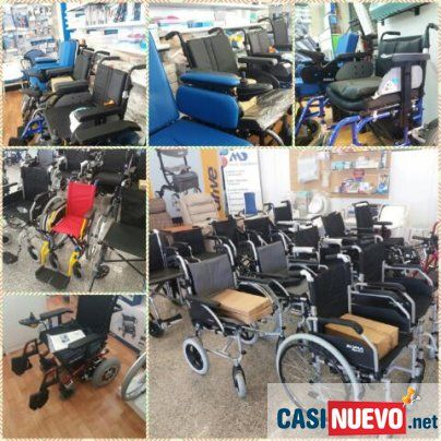 Venta De Sillas De Ruedas Nuevas Y De Segunda Mano En Madrid