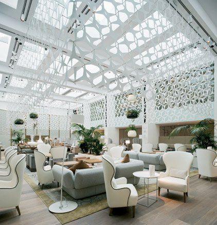 Pin von jessica varley auf lobby pinterest dekoration - Dekoration lounge ...