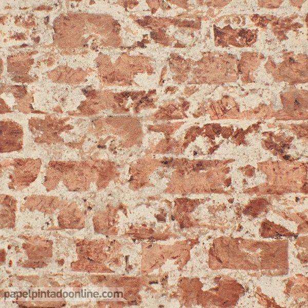 Papel pintado new walls nws 1844 62 89 papel de imitaci n - Papel imitacion piedra ...