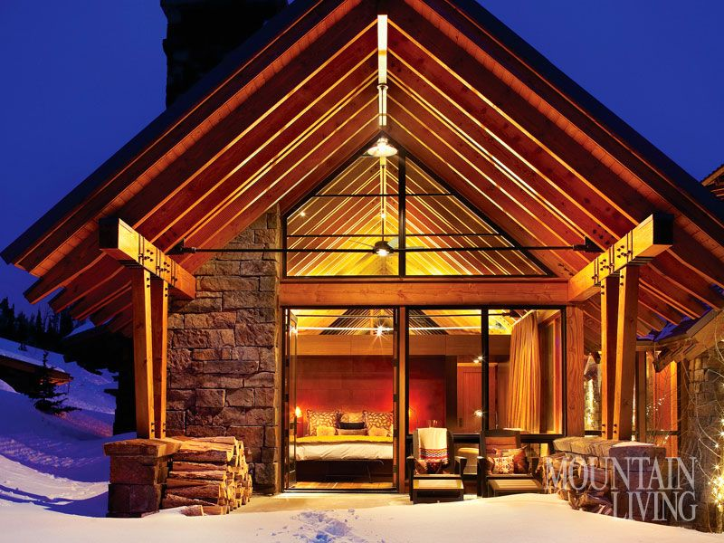 Style Your Home Rustic Montana Homes Mountain Living Magazine Cabins And Cottages