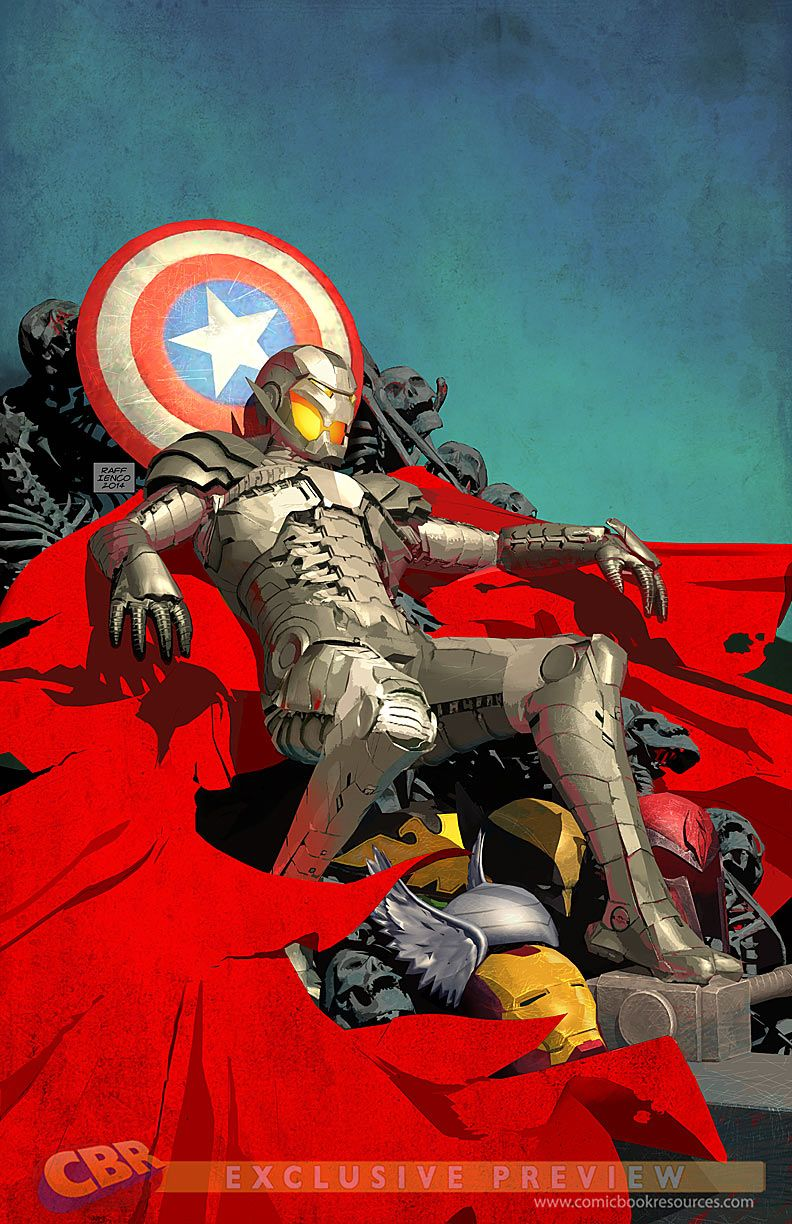 Are they all Dead? What if Age of Ultron Variant Cover