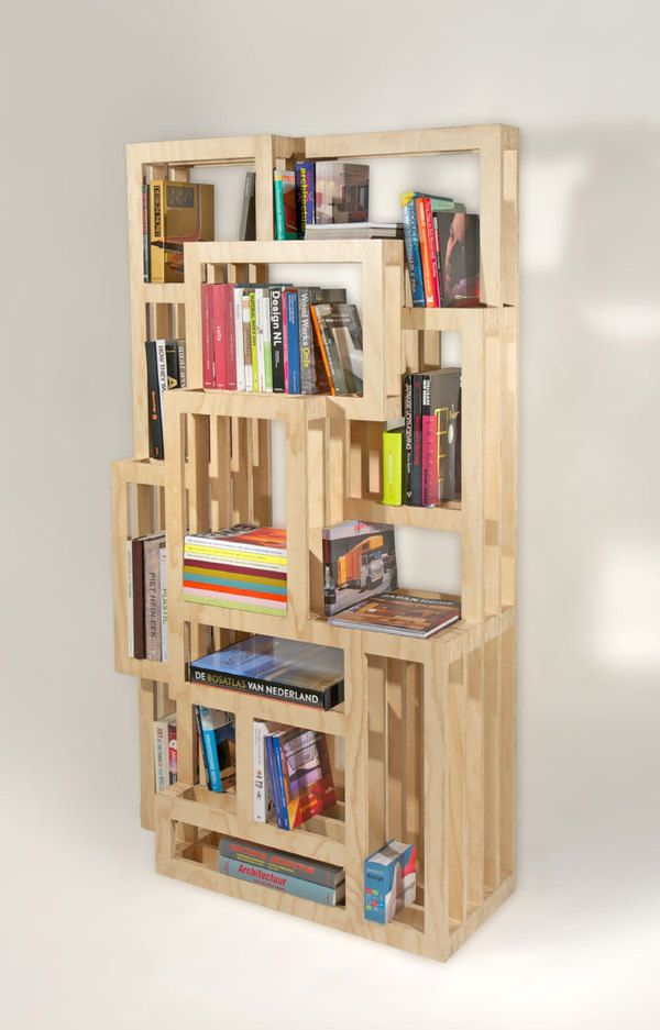 Homemade Bookshelves Ideas Awesome Modern Minimalist Wooden Style