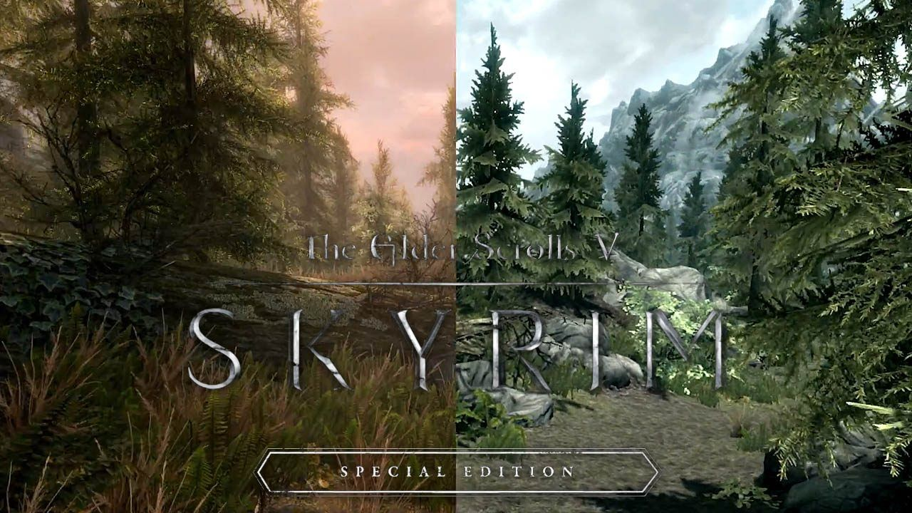 Bethesda has managed to run Skyrim Special Edition in native