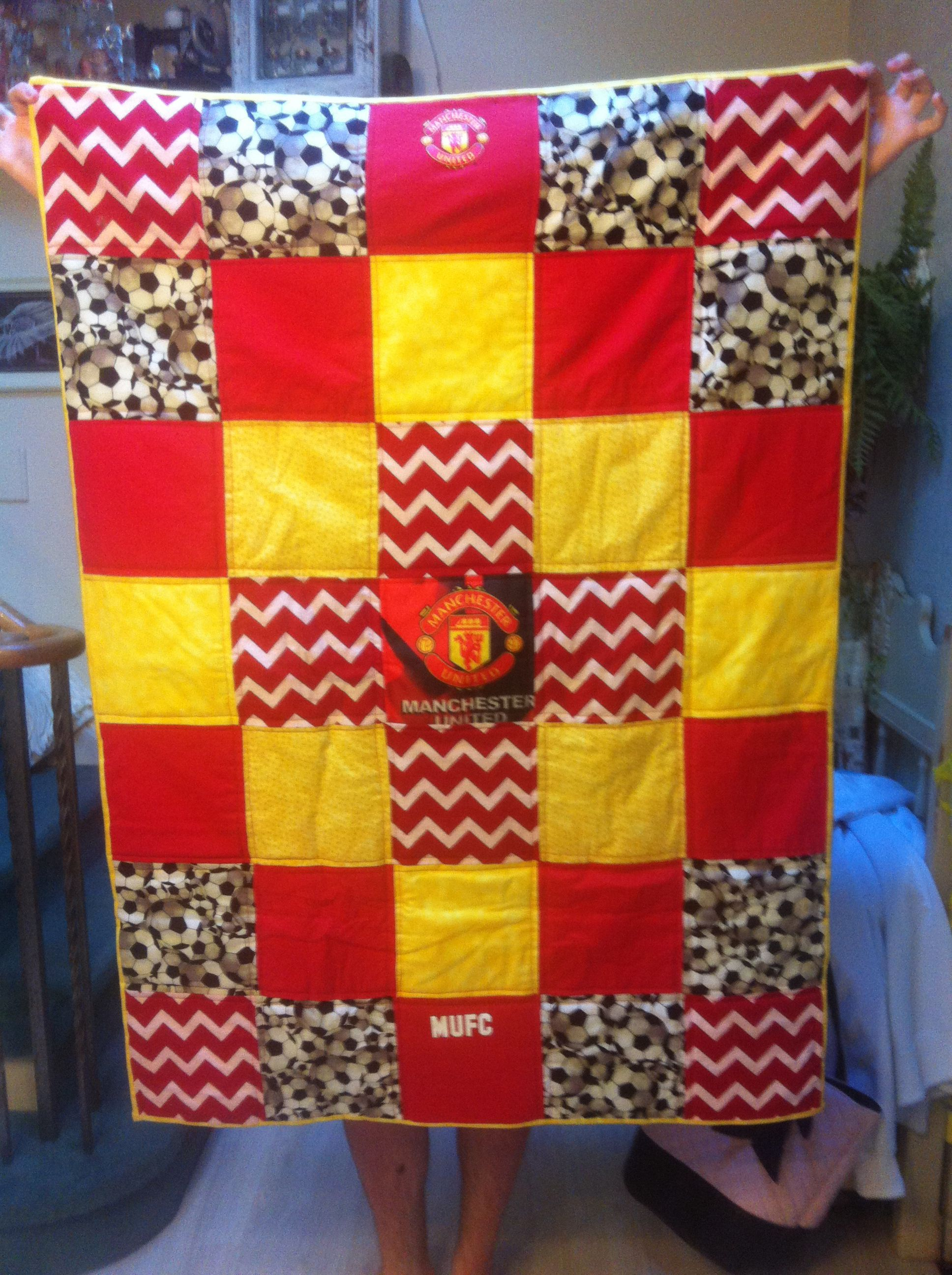 Manchester United Quilt Quilts Quilt Inspiration Manchester United