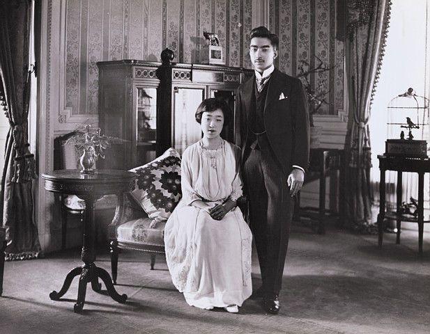 昭和天皇陛下、香淳皇后陛下