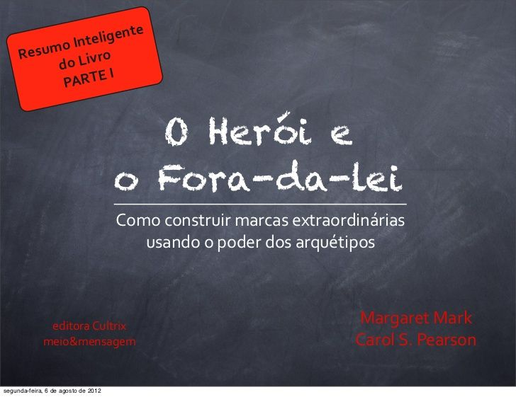 O Heroi E O Fora Da Lei 1 Resumo Sobre Resumo Inbound Marketing