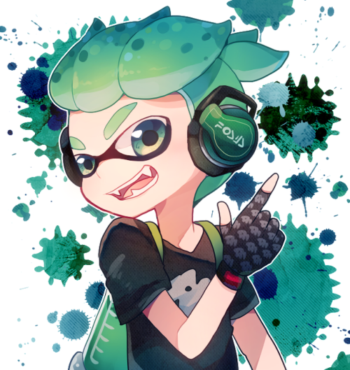 Inkling Boy Splatoon 2 By Sioriwtumblrcom Splatoon