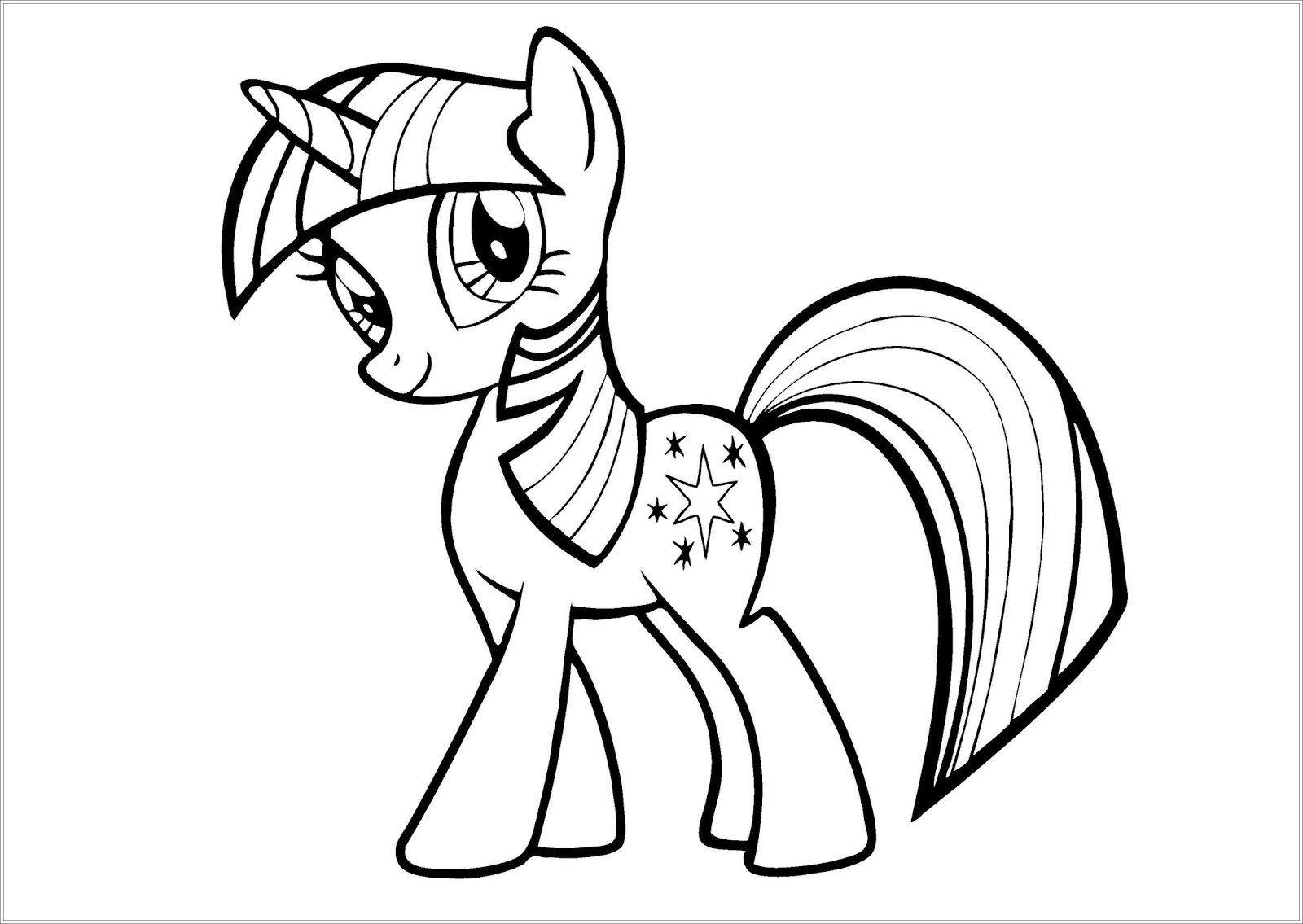 Mein Kleines Pony Malvorlagen Sketsa Buku Mewarnai Gambar