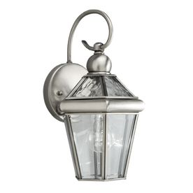 Pewter Outdoor Wall Light