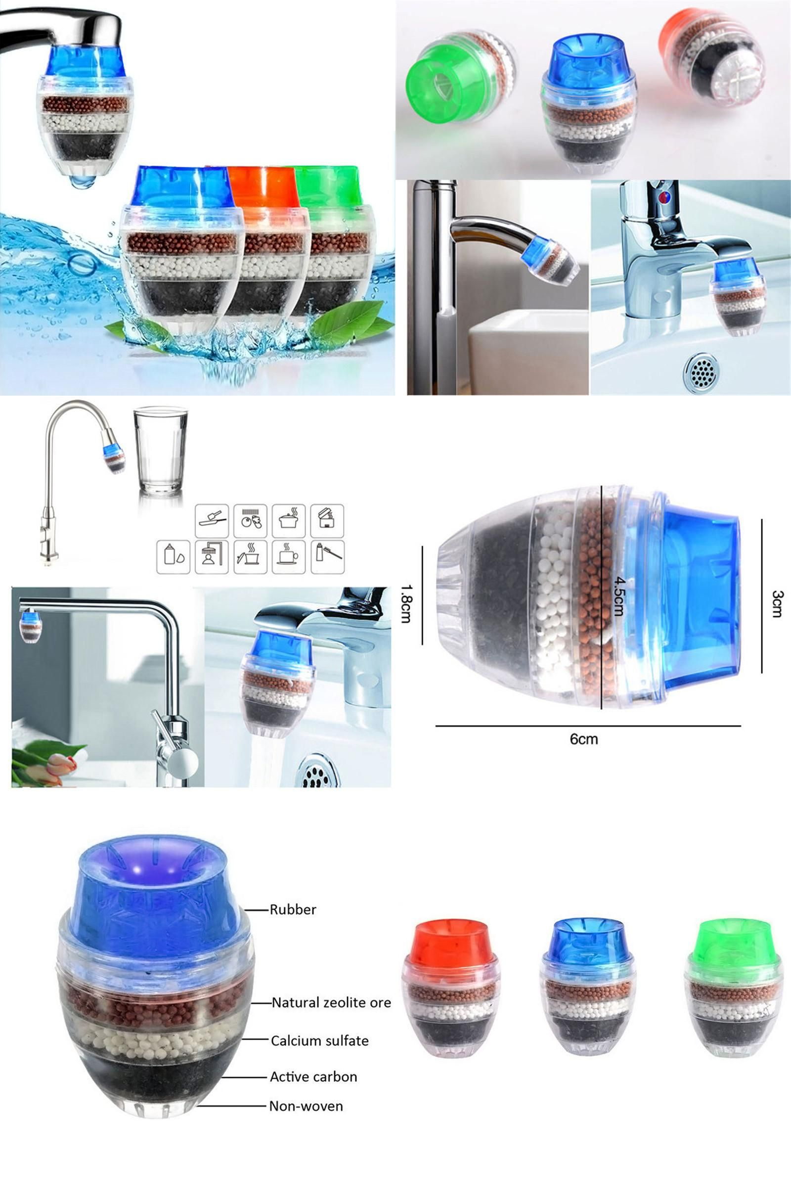 Visit To Buy 1 Pc Coconut Carbon Home Household Kitchen Mini Faucet Tap Water Filter Clean Purifier Filter Filtrati Faucet Cheap Kitchen Faucets Mini Kitchen