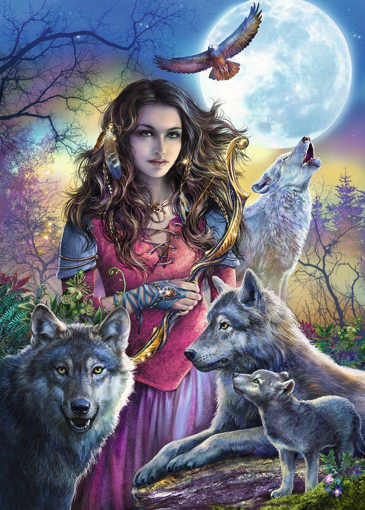 Photo of Patronin der Wölfe   Erwachsenenpuzzle   Puzzle   Produkte   Patronin der Wölfe