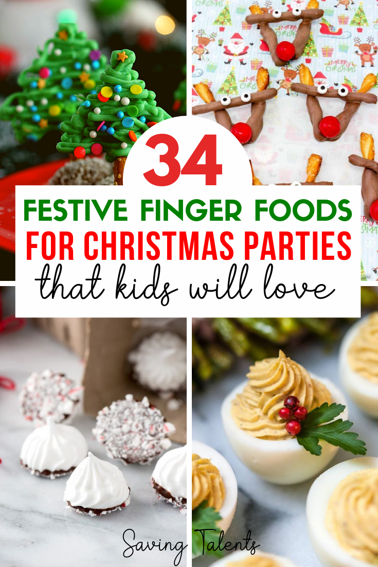 Here is the ultimate list of kid friendly holiday finger