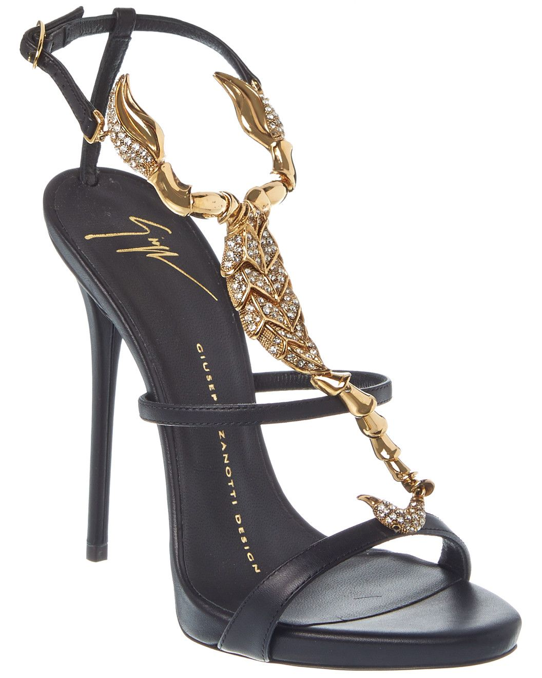 Spotted this Giuseppe Zanotti Leather Sandal on Rue La La. Shop (quickly!).