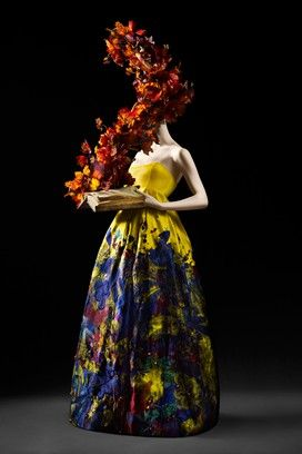 "Victoria & Albert Museum is opening an exhibition called ""Ballgowns."" (dress Erdem)"