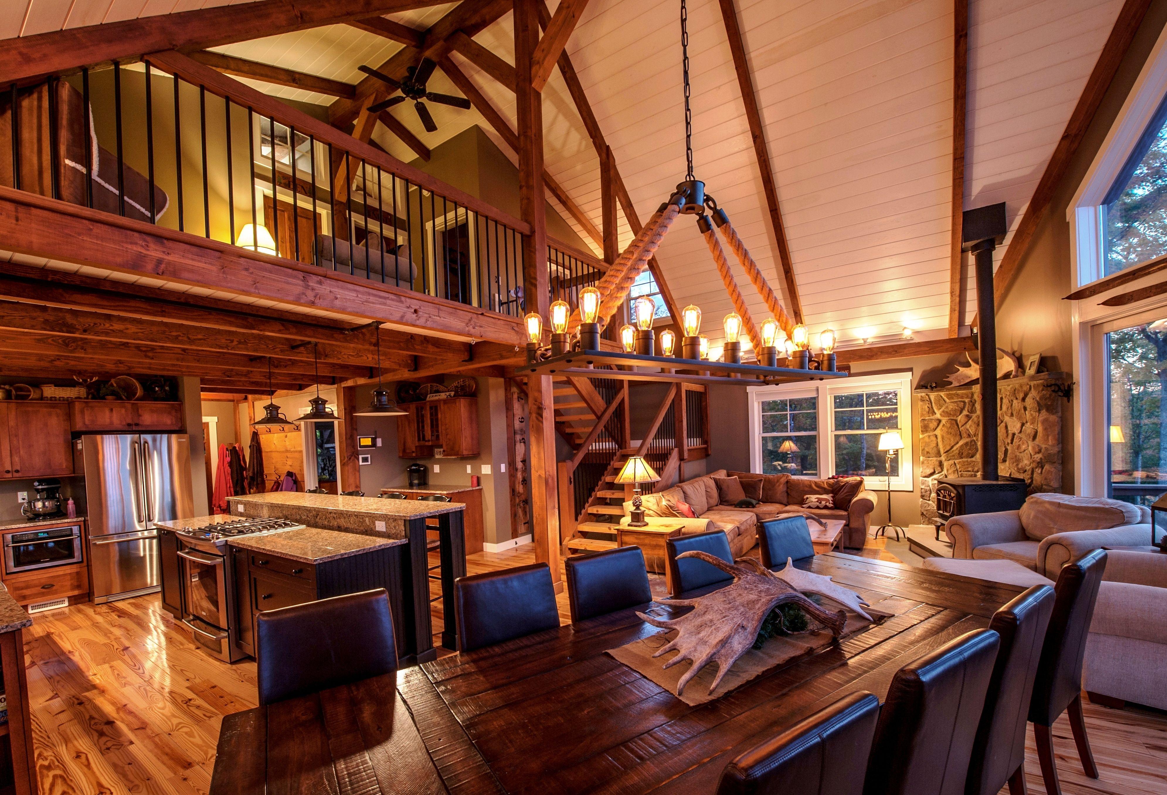 The Barn House Loft at Moose Ridge Lodge   Barn, Lofts and Ceilings