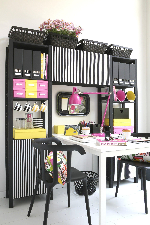ikea spazio alla personalizzazione il tuo ivar diy pinterest studentenzimmer. Black Bedroom Furniture Sets. Home Design Ideas