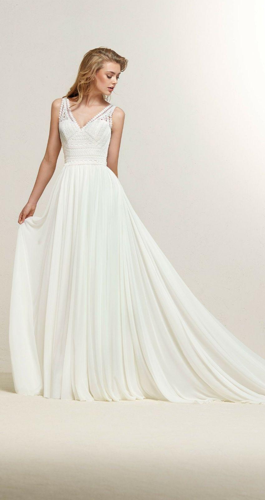 2 piece crop top wedding dress  DRAMIA PR  Vivienne  Bridal Gowns Wedding Dress in