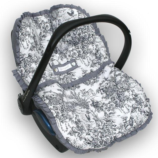 Kinderautositzbezüge - Bezug + Fußsack f. maxi cosi Babyschale ...