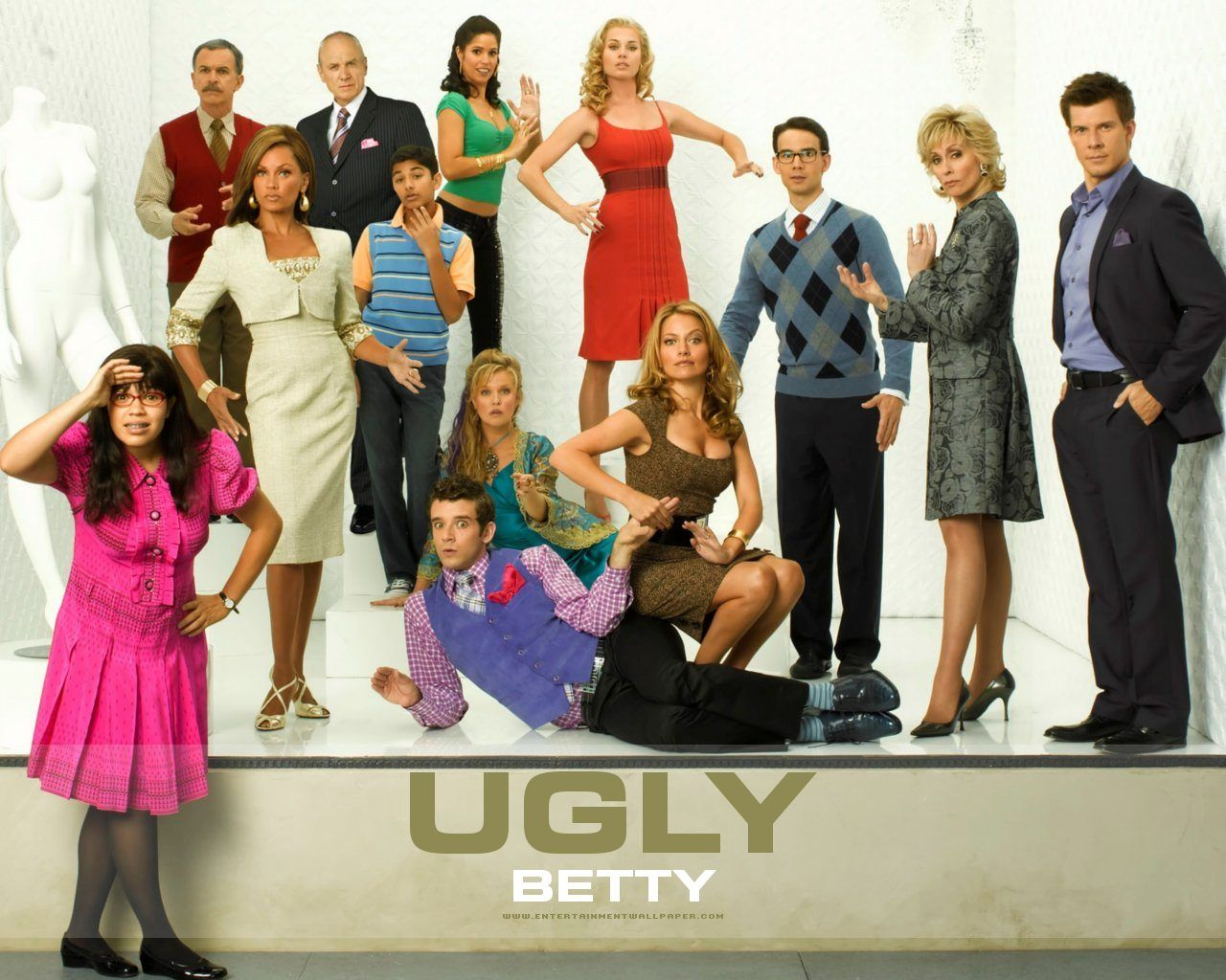 Image result for ugly betty tv logo