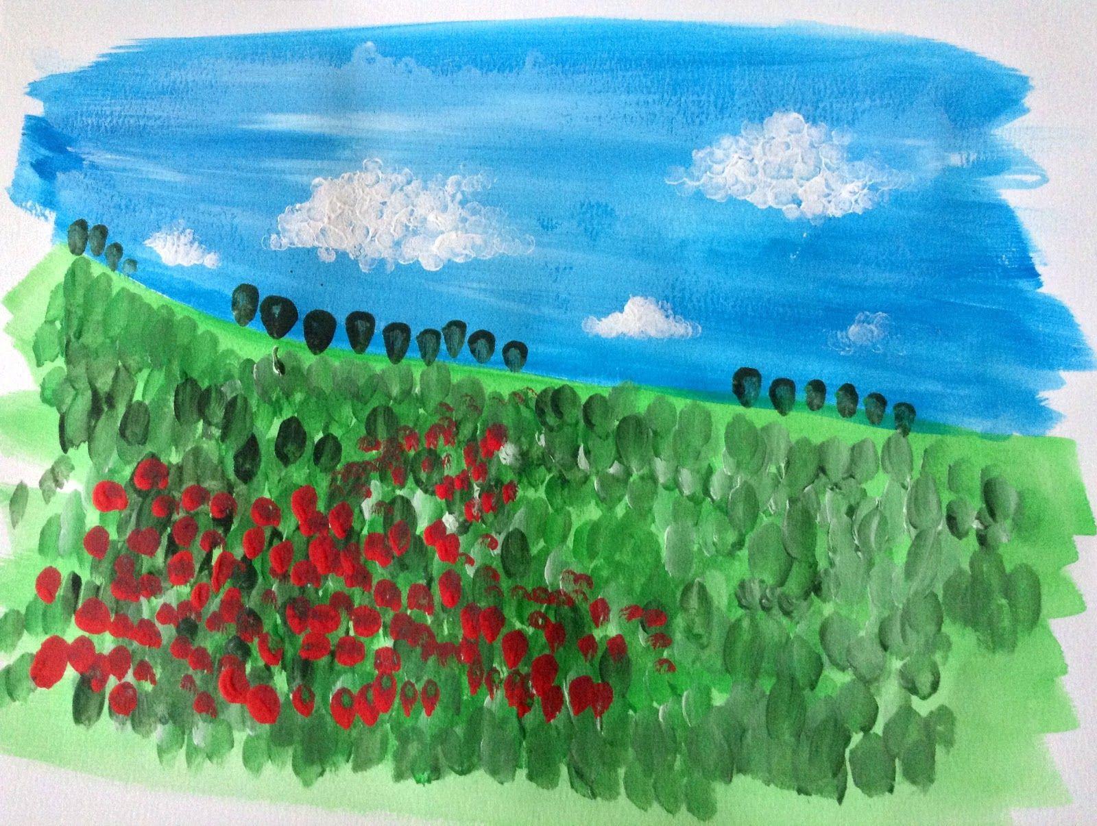 Bambini Pittura ~ Arte per bambini a scuola e a casa idee prattiche di disegno