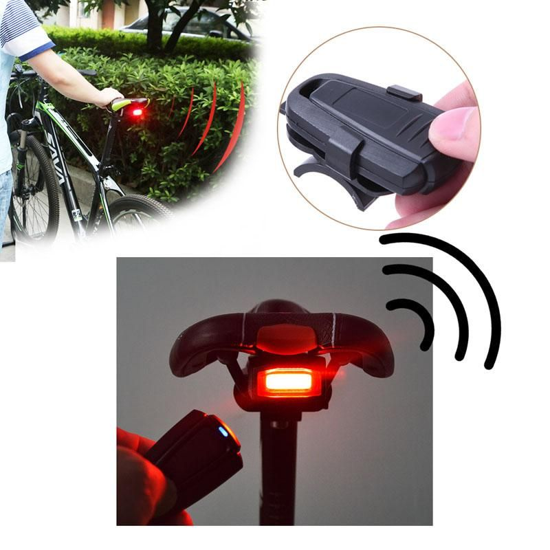 4 In 1 Bike Lock Security Alarm Pc Remote Control Remote