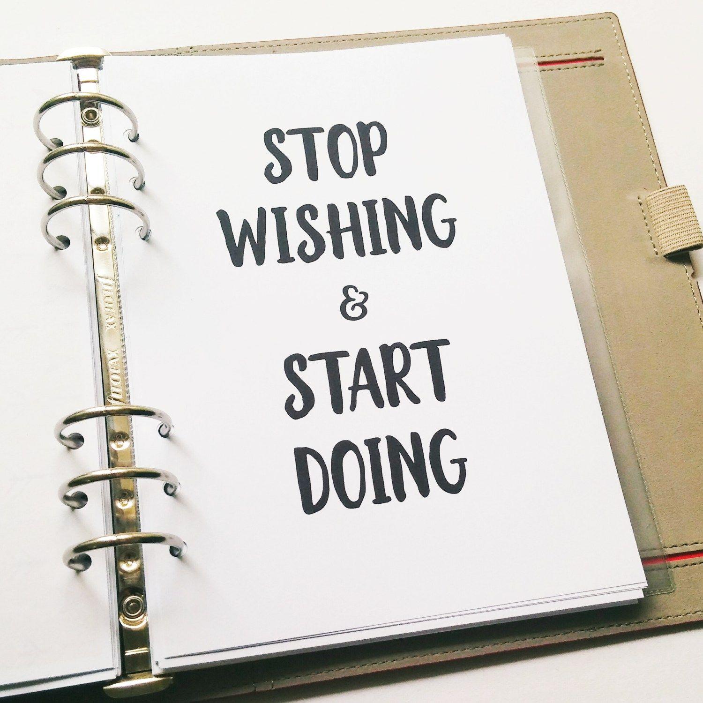 Setting up Bullet Journal for New Year (2017) - Infinite Planner