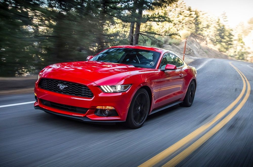 Ford Ph Launches All New Mustang With 2 Flavors Ecoboost And V8 Gt Autodeal New Ford Mustang 2015 Ford Mustang Mustang Ecoboost