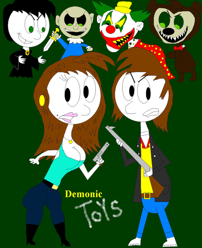 Demonic toys cartoon |Pinned from PinTo for iPad|