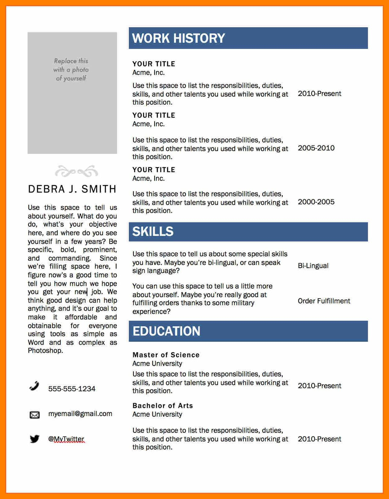 The Enchanting 008 Template Ideas Resume Layout Word Cv Templates Microsoft Throughout R In 2020 Microsoft Word Resume Template Simple Resume Template Cv Template Word