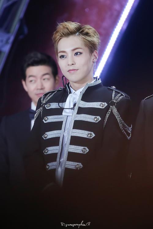 Xiumin - 170114 31st Golden Disk Awards Credit: Snow Seraphim. (제31회 골든디스크 어워즈)